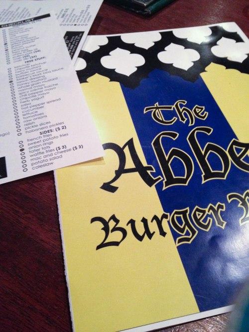 Abbey Burger