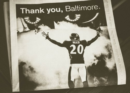 Goodbye Ed Reed