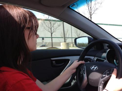 Julia's driving