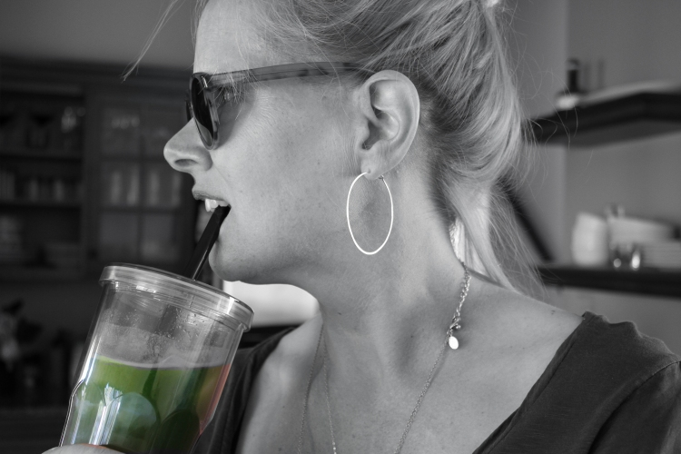 green juice and me
