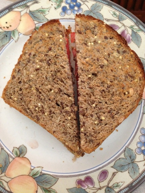 tomato sandwiche